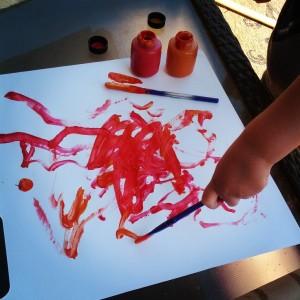 pj torch painting